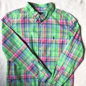 Polo Ralph Lauren Boys Button Up **LIKE NEW**